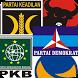 Partai Peserta Pemilu by Makrif Labs