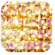 Ablaze twinkling lamp keyboard by live wallpaper collection