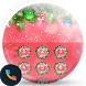 Xmas Red Phone Dialer Theme by Themes Messages Contacts Dialer by Double L