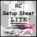 Rc Car Setup Sheet LITE by Alex Damiani