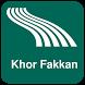 Khor Fakkan Map offline by iniCall.com