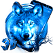 3D Ice Wolf Theme by 3dthemecoollauncher