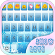 Snow Love Emoji Keyboard Theme