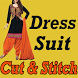 Dress Cutting Stitching Videos - NEW Suit Designs by SEWING VIDEO Tutorial Apps to Cut & Stitch Clothes