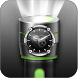 Flashlight Torch with Clock by Shreeji Creation