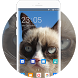 Theme for Xolo Play 8X-1100 Grumpy Cat Wallpaper by Theme Guru