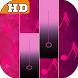 Piano Pink Tiles by KING UNIVERS