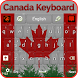 Canada Winter Forest Keyboard by Luna Themes