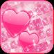 Pink love Keyboard Theme by Fantasy Keyboard studio