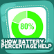 Show Battery Percentage Help