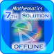 RS Aggarwal Class 7 Math Solution(offline) by VeeKeey Soft Technologies Pvt.Ltd