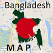 Bangladesh Rajshahi Map by Map City