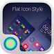 Flat Icon Style Hola Theme by Themes for phone