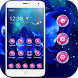 Blue rose and Water drop theme by big designer