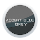 Accent Blue Grey Theme by Abo Hani OLD