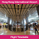 Hong Kong Airport Flight Time by Arif Hossen