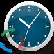 Atomic Clock Wallpaper by makarovsoftware