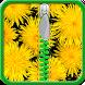 Dandelion Zipper Lock Screen by Energy Zipper Lock Screen