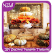 DIY Stacked Pumpkin Topiaries