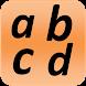 Malay Alphabet for child