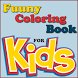 Funny Coloring Book For Kids by Mobiles Up
