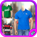 Men Casual T-shirt Photo Editor by Photo Beauty Apps