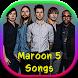 Maroon 5 Songs