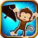Stick Chimp Run - Line Runner by Aardvark Superstar