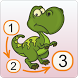 Dinosaur Connect the Dots PRO by Kedronic UAB