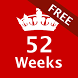 52 Weeks Challenge - Free by Evknz Apps