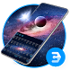3d surface Galaxy S8 keyboard theme by Bestheme Keyboard Designer