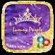 Luxury Purple Launcher Theme by ZT.art
