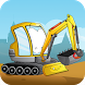 Kids construction vehicles by Kidstatic Apps
