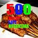 500 Resep Sate Nusantara Enak by Rejeki Digital