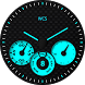 Tri Carbon Blue Watchface by The White Coconut Studio