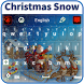 Christmas Snow Keyboard by Luna Themes