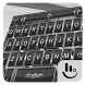 Gentle Silver Knight Keyboard Theme by Love Free Themes