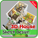 House Sketch 3D Design