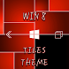 Win8 Red Tiles XZ Theme by Arjun Arora