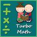 Turbo Math - A Challenge game by M.Shuaib Imran