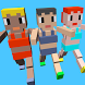 BLOCKY OLYMPIC sports craft by HeatOnHead studio