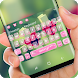 Pink Love shelf Keyboard Theme by Jubee Theme Studio