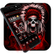 Blood Hell Skull Launcher by Cool Wallpaper