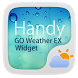 Handy GO Weather Widget Theme by GO Dev Team X