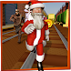 Real Santa Subway Runner - Santa Run Rush 3D by Mega Games Studio