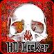 Creepy Skull Locker by StargazerApps