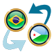 Brazil Real x Djiboutian Franc by Currency Converter X Apps