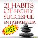 21 Entrepreneurial Habits~Free by lokesh hanumappa