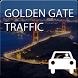 Traffic Golden Gate, SF by Apphero