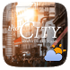 City GO Weather Widget Theme by GOMO Go